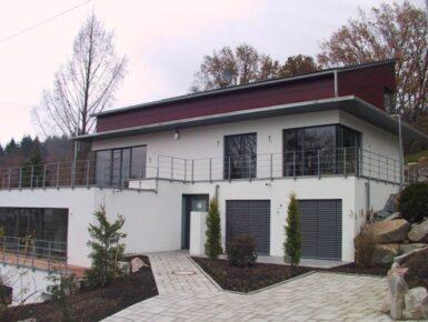 neubau eines efh mit einliegerwohnung freiburg herbstritt architekten. Black Bedroom Furniture Sets. Home Design Ideas